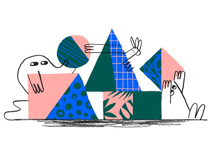 تصویرسازی dropbox