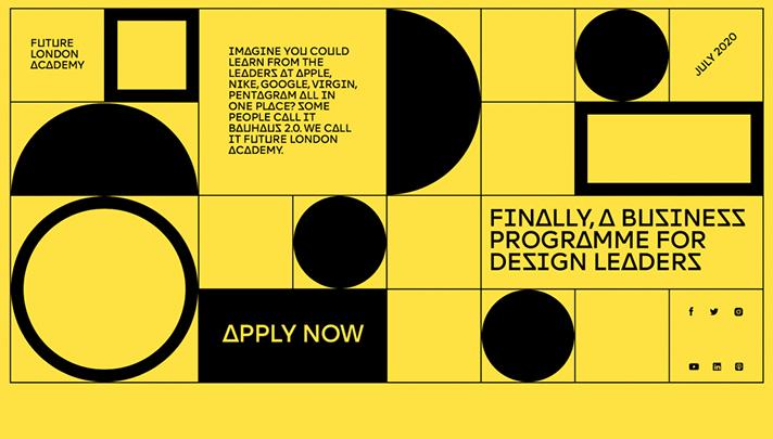 کاربرد اشکال هندسی در طراحی سایت