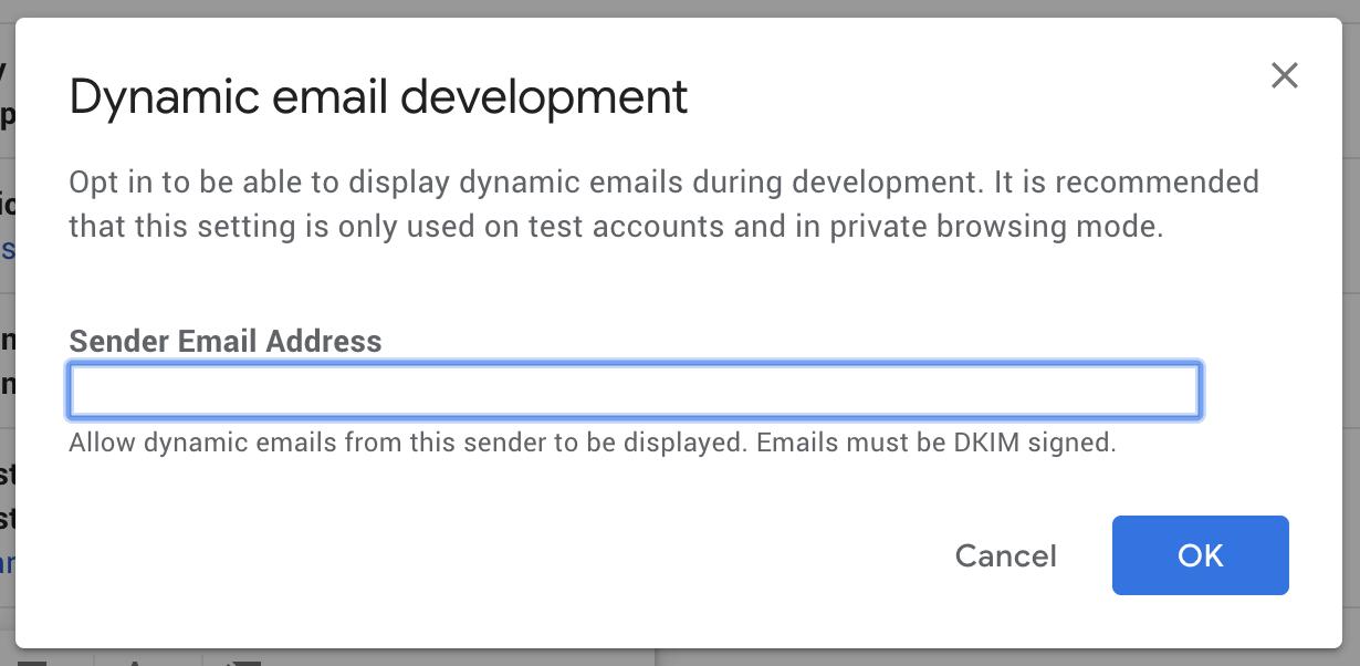 استفاده از AMP Email برای توسعه دهندگان